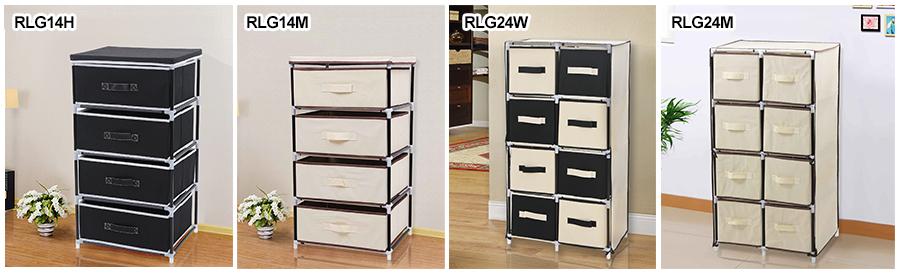 schubladenschrank faltschrank aufbewahrung schrank mit schubladen 4 varianten ebay. Black Bedroom Furniture Sets. Home Design Ideas