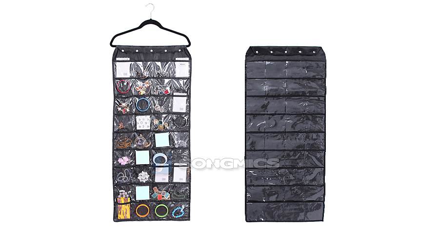 3xschmuckhalter aufbewahrung kosmetik schmuck wand h nge organizer jjs105h 3 ebay. Black Bedroom Furniture Sets. Home Design Ideas
