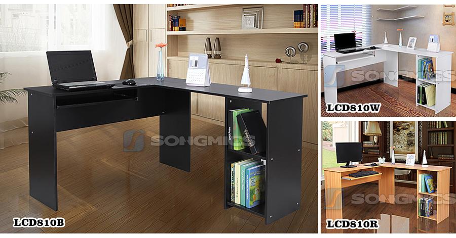 Scrivania porta pc tavolo per computer tavolo laptop con - Tavolo porta pc ...