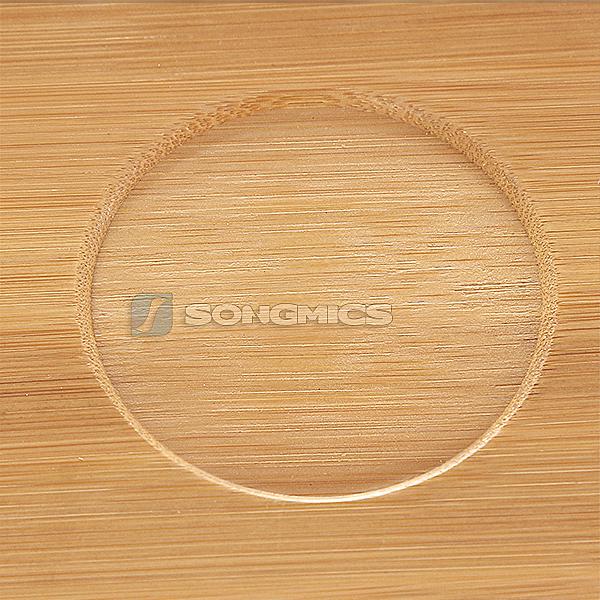songmics neu laptoptisch betttisch klapptisch notebook lese tisch aus bambus ebay. Black Bedroom Furniture Sets. Home Design Ideas