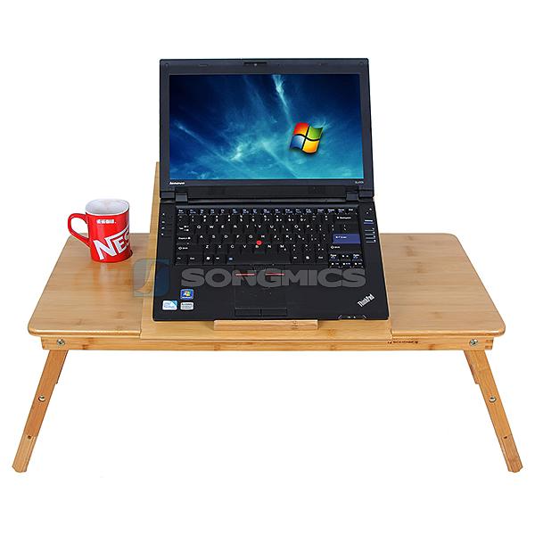 pc notebook laptop tisch schreibtisch recht und linksh nder mit k hler lld005 ebay. Black Bedroom Furniture Sets. Home Design Ideas
