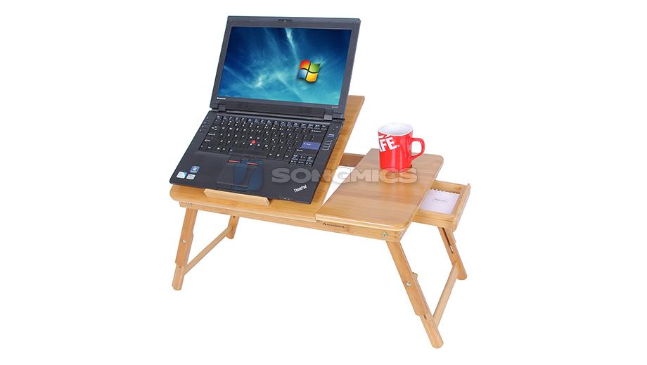 songmics neu laptoptisch betttisch notebook lese tisch aus. Black Bedroom Furniture Sets. Home Design Ideas