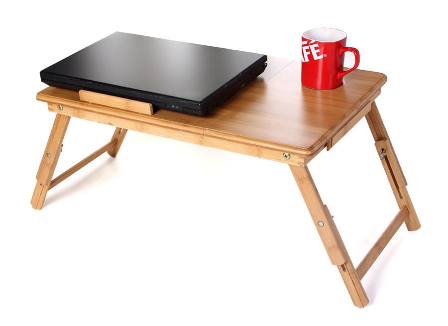 songmics neu laptoptisch betttisch klapptisch notebook tisch aus bambus lld55l ebay. Black Bedroom Furniture Sets. Home Design Ideas