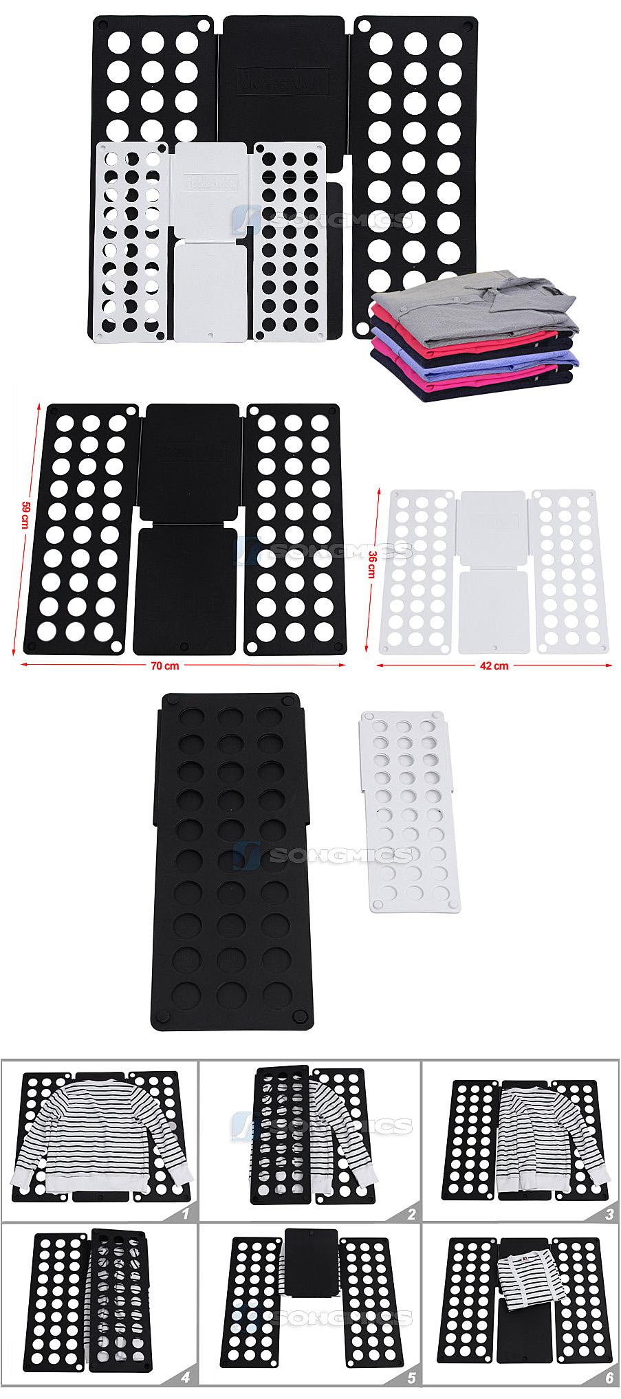 songmics 2er set faltbrett w sche falthilfe w schefaltbrett lcf002 ebay. Black Bedroom Furniture Sets. Home Design Ideas