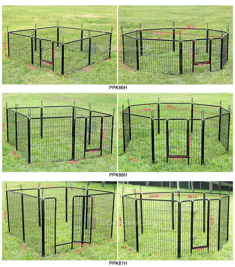 songmics recinto gabbia pieghevole per cuccioli cani roditori nero xl xxl ebay. Black Bedroom Furniture Sets. Home Design Ideas