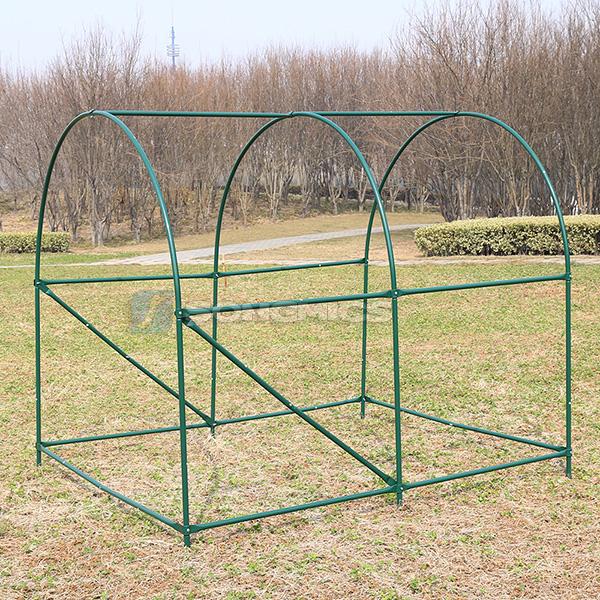 songmics garden polytunnel greenhouse pollytunnel poly tunnel gwp25l ebay