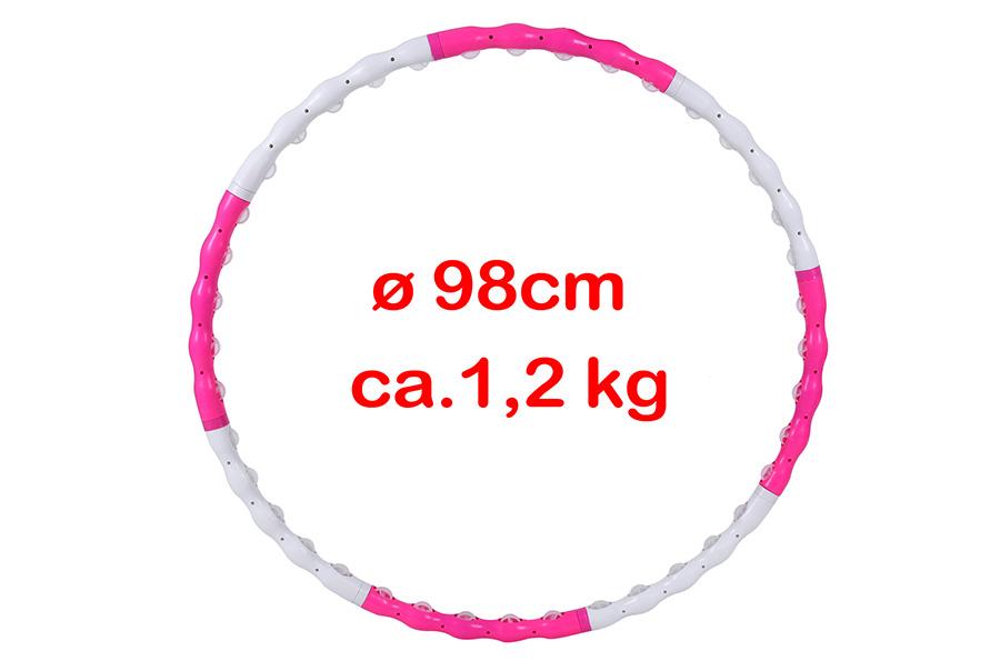 hula hoop reifen abnehmen erwachsene hoopdance massagenoppen 98cm shh009p ebay. Black Bedroom Furniture Sets. Home Design Ideas