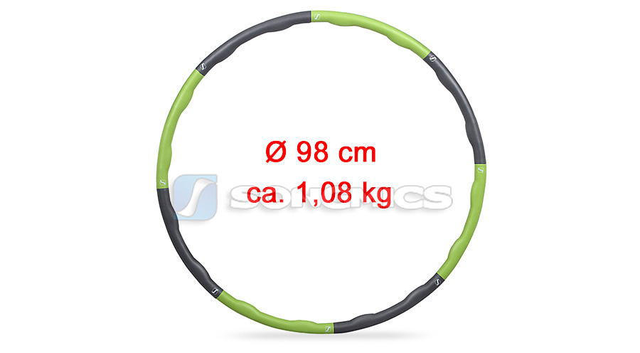 songmics hula hoop reifen massagenoppen 98 cm shh012 ebay. Black Bedroom Furniture Sets. Home Design Ideas