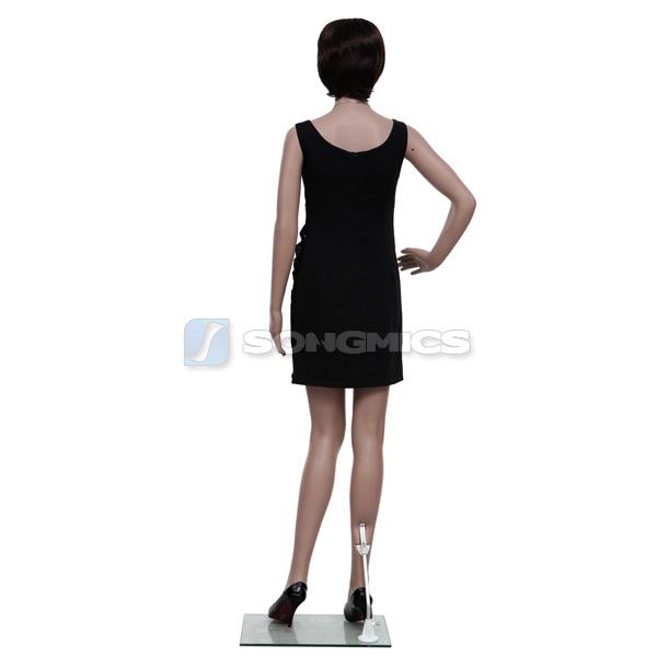 songmics schaufensterpuppe schaufensterfigur mannequin weiblich frau mplm01 ebay. Black Bedroom Furniture Sets. Home Design Ideas