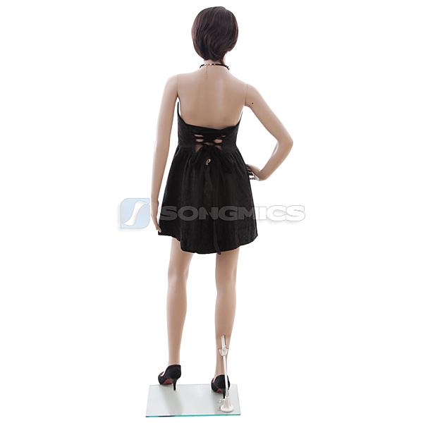 songmics plastic unbreakable eco friendly new female mannequin full body mplm09 ebay. Black Bedroom Furniture Sets. Home Design Ideas