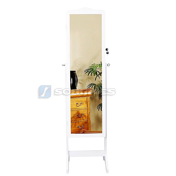 Floor Standing Jewelry Jewellry Cabinet Storage Box