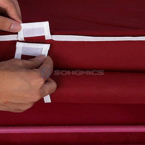 songmics 7 schicht schuhschrank schuhablage schuhregal stoff faltschrank rxj07r ebay. Black Bedroom Furniture Sets. Home Design Ideas