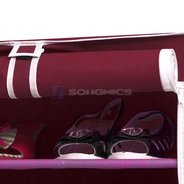 songmics 7 10 schicht schuhschrank schuhablage schuhregal schuhst nder ebay. Black Bedroom Furniture Sets. Home Design Ideas