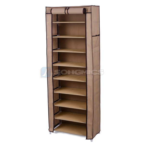 Songmics Shoe Rack Shoes Cabinet Stand Standing Storage ...