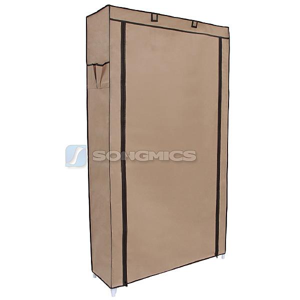 songmics xxl schuhregal schuhschrank f r ca 45 paar schuhe hellbraun rxj36k ebay. Black Bedroom Furniture Sets. Home Design Ideas