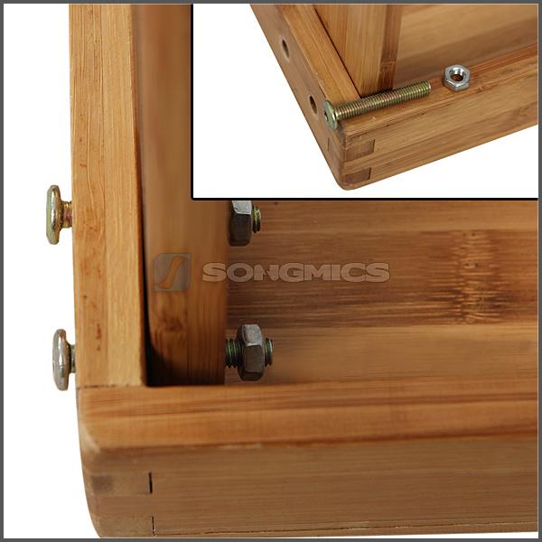 songmics scarpiera scarpiere panchina porta scarpe scaffale di bamb ebay. Black Bedroom Furniture Sets. Home Design Ideas