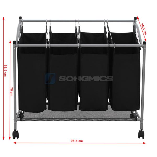 4 f chern w schewagen w schesammler w schebox w schesortierer w schekorb lsf005. Black Bedroom Furniture Sets. Home Design Ideas