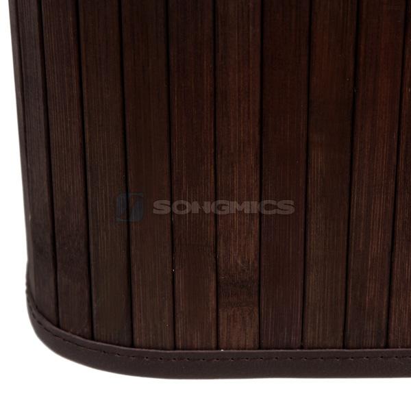 songmics bambus w schekorb w schebox w schetruhe w schesammler eckig hell lcb102 ebay. Black Bedroom Furniture Sets. Home Design Ideas
