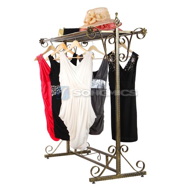 portant en fer porte v tement manteau penderie tag re chaussures hra006 ebay. Black Bedroom Furniture Sets. Home Design Ideas