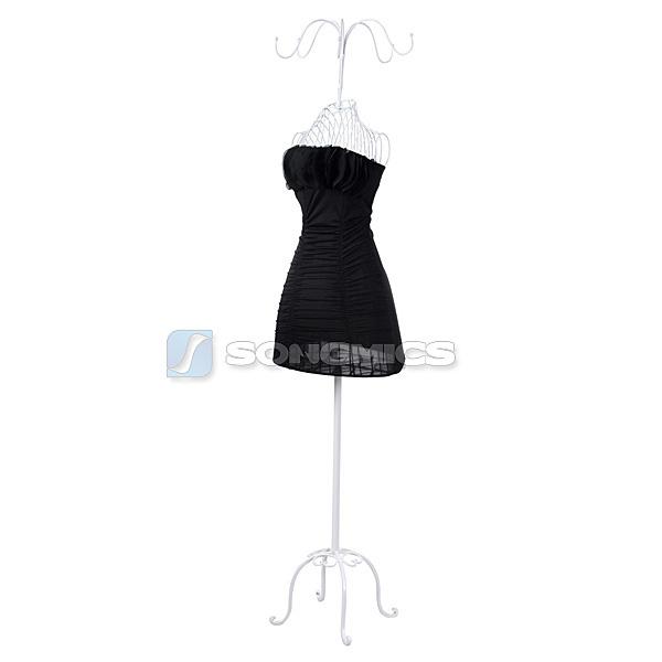 neuf porte v tement manteau mannequin de couture buste en fer forg femme hra ebay. Black Bedroom Furniture Sets. Home Design Ideas
