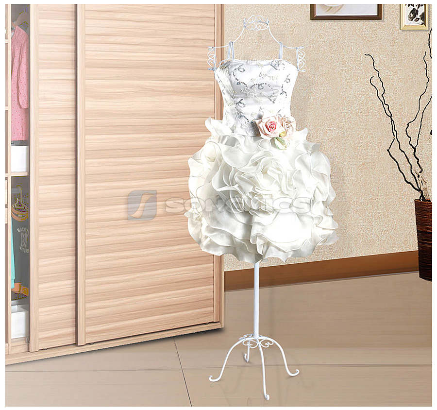 schneiderpuppe schaufensterpuppe metall schneiderb ste deko torso wei hra09w ebay. Black Bedroom Furniture Sets. Home Design Ideas
