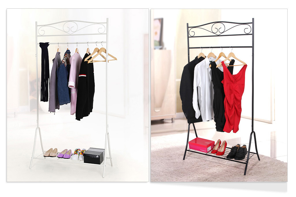 kleiderst nder metall kleiderstange garderobenst nder. Black Bedroom Furniture Sets. Home Design Ideas