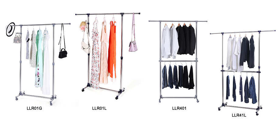 garderobenst nder edelstahl kleiderst nder mit rollen belastbarkeit 25 30 kg. Black Bedroom Furniture Sets. Home Design Ideas