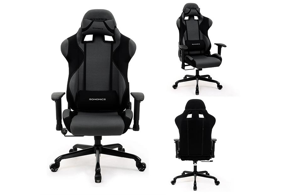 songmics b rostuhl chefsessel gaming stuhl. Black Bedroom Furniture Sets. Home Design Ideas