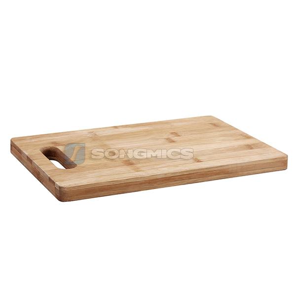 schneidebrett nudelbrett hackblock tranchierbrett k chenbrett bambus kab101 ebay. Black Bedroom Furniture Sets. Home Design Ideas