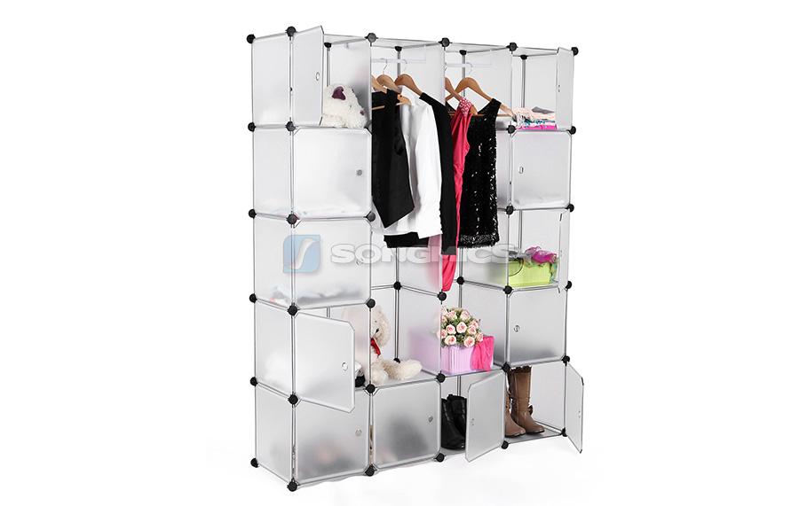 regal schrank steckschrank kleiderschrank garderobe steckregal schuhregal lpc30w ebay. Black Bedroom Furniture Sets. Home Design Ideas