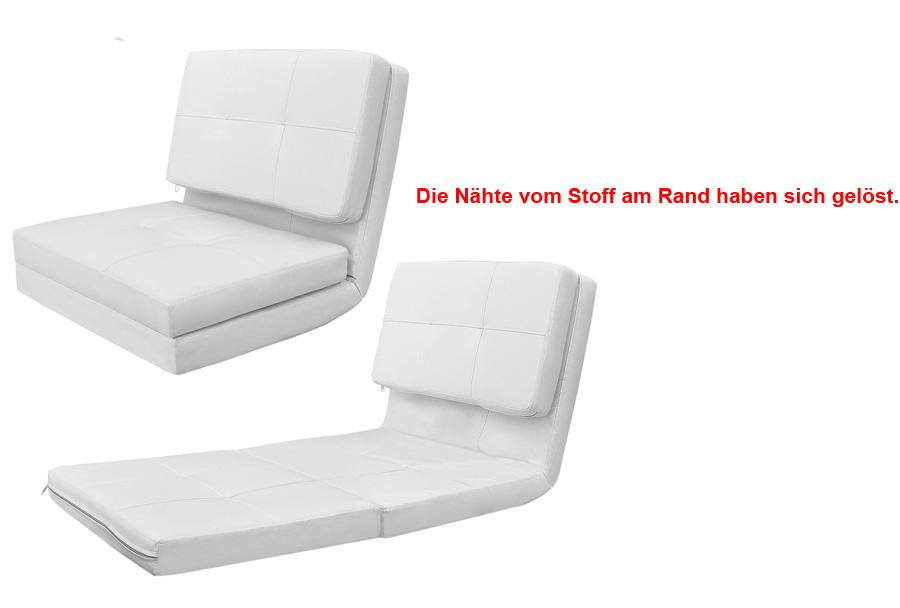 Gebrauchte schlafsofa bettcouch klappmatratze bettsofa for Gebrauchte couch