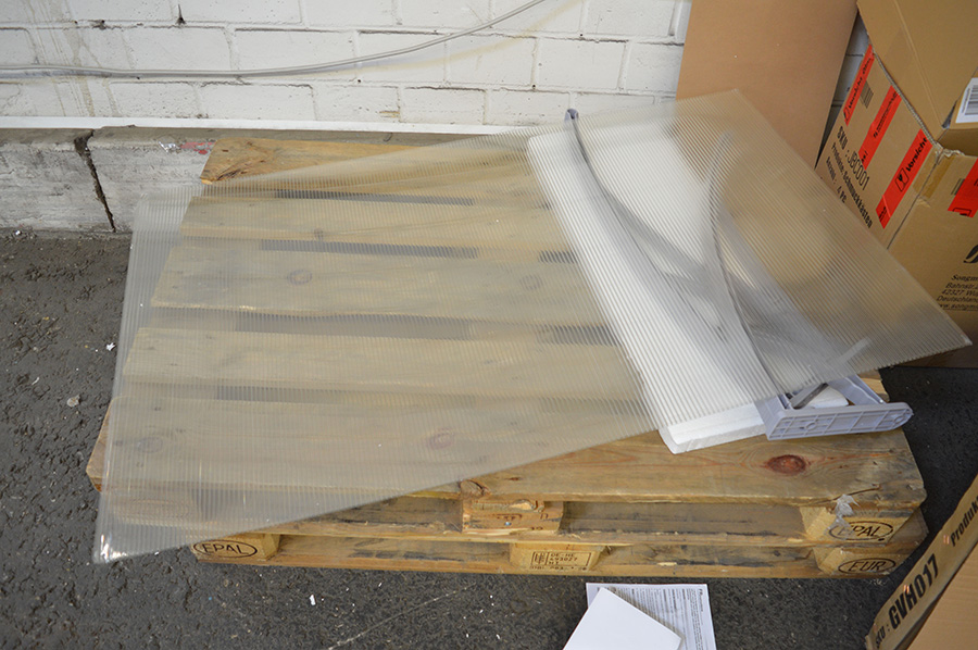 gebrauchte 120x80 cm vordach pultvordach t rdach haust rdach alu l160462b gvh017 ebay. Black Bedroom Furniture Sets. Home Design Ideas