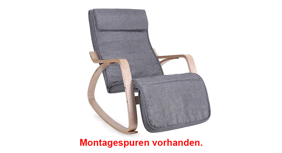Gebrauchte schaukelstuhl schwingsessel relaxstuhl for Schaukelstuhl 150 kg