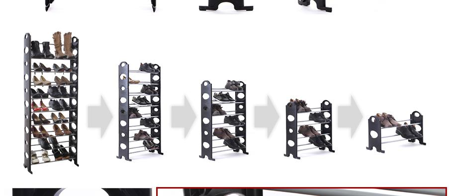 schuhregal f r bis 40 paar schuhe schuhschrank schuhst nder 10 ebene lsr002 ebay. Black Bedroom Furniture Sets. Home Design Ideas
