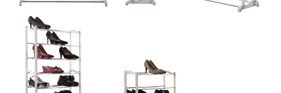 schuhregal f r ca 40 paar schuhe schuhschrank schuhst nder 10 ebene lsr003. Black Bedroom Furniture Sets. Home Design Ideas