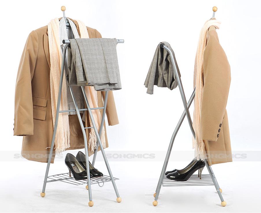 neu kleiderst nder stummer diener herrendiener kleiderbutler hrp001 ebay. Black Bedroom Furniture Sets. Home Design Ideas